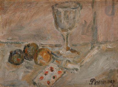 Jean Puni dit POUGNY (1892-1956) Oranges,...