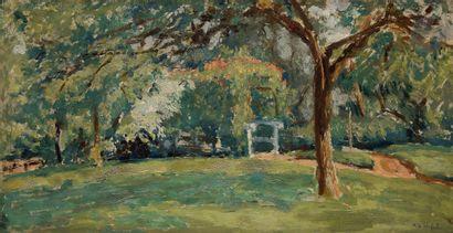 Ker-Xavier ROUSSEL (1867-1944) Le Petit Pont...