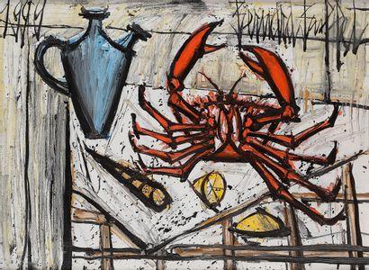 Bernard BUFFET (1928-1999) Le Crabe, 1999...