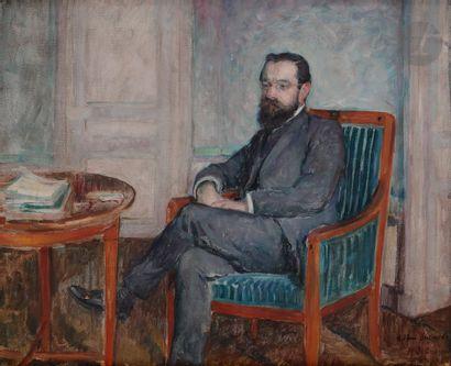 Henri LEBASQUE (1865-1937) Monsieur Sabathé...