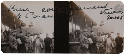 Sous-lieutenant Jean Morillon Aviation. Première...