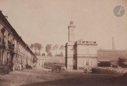 Jean Belcour Usine près de Soissons, c. 1850....