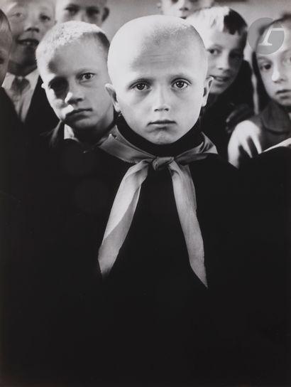 *Antanas Sutkus (1939) Pioneers. Ignalina,...