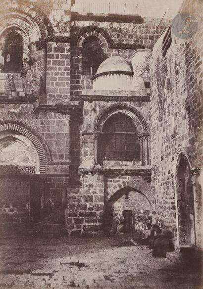 Auguste Salzmann (1824-1872) Jérusalem, 1853....