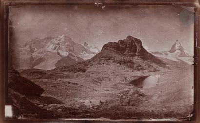 Maison Adolphe Braun Alpes suisses. Le Cervin,...