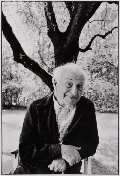 *Martine Franck (1938-2012) Marc Chagall,...