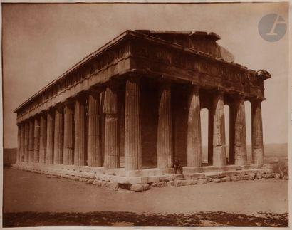 Maison Adolphe Braun Grèce, c. 1890. L'Acropole...