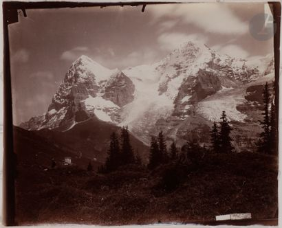 Maison Adolphe Braun Alpes suisses, c. 1867-1880. Panorama du Grindelwald. Mürren...