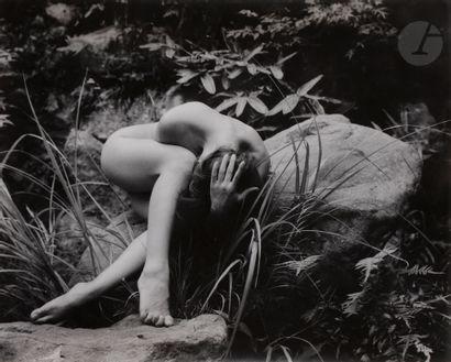 *Yoshiyuki Iwase (1904-2001) Sans titre [femme...