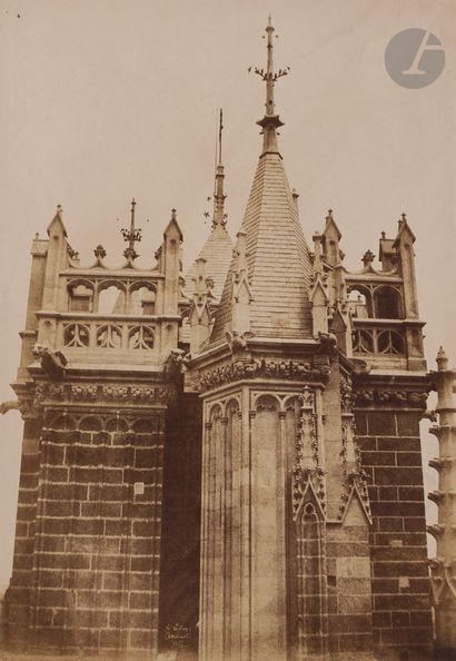 Henri Le Secq (1818-1882) Cathédrale Notre-Dame...