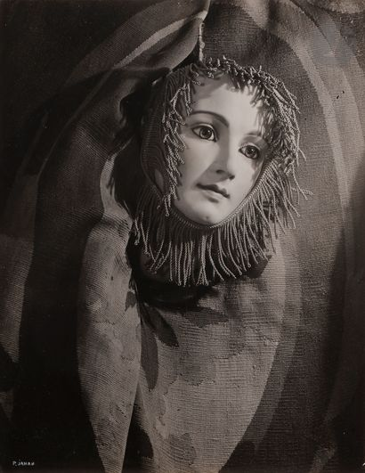 *Pierre Jahan (1909-2003) Masque, 1947. Épreuve...