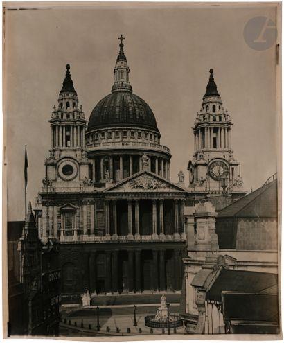 Maison Adolphe Braun Londres, c. 1890. Cathédrale...