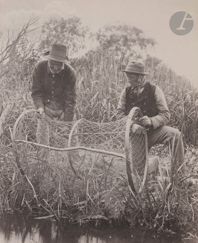 Peter Henry Emerson (1856-1936) Setting Up...
