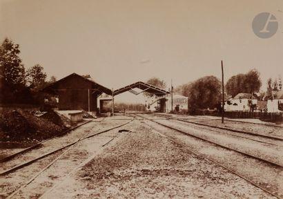 Édouard Baldus (1813-1889) Chemin de fer...