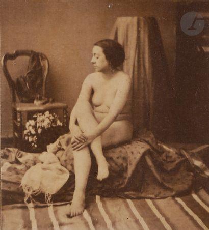 Louis Camille d'Olivier (1827-1870) Nus féminins...