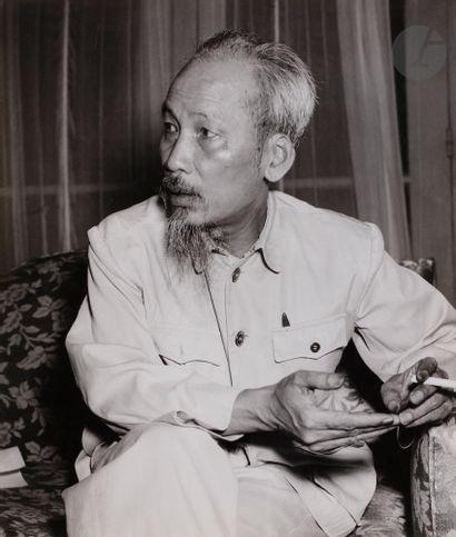 *Dmitri Baltermants (1912-1990) Hô Chi Minh,...