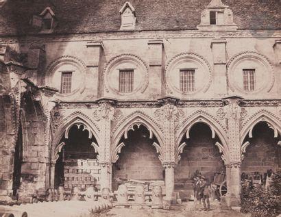 Jean Belcour Soissons, 1857. Cloîtres de...