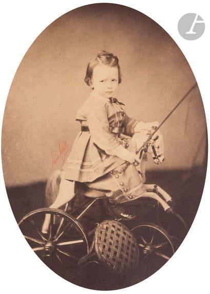 Pierre Petit (1832-1909) Enfants, c. 1860....