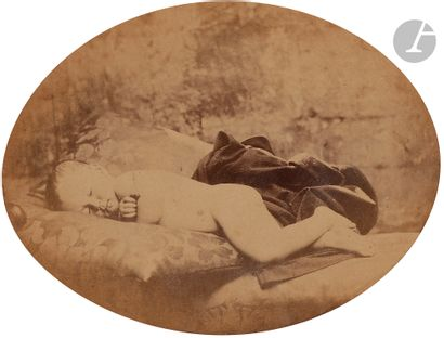 Lewis Carroll (1832-1898) Enfant endormi,...
