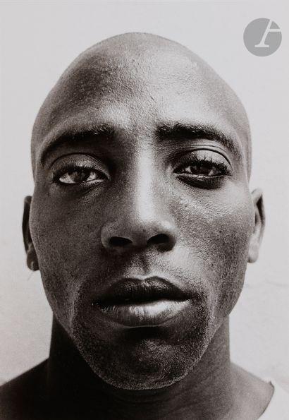 *Cristina Piza (1963) Portrait [jeune homme]....