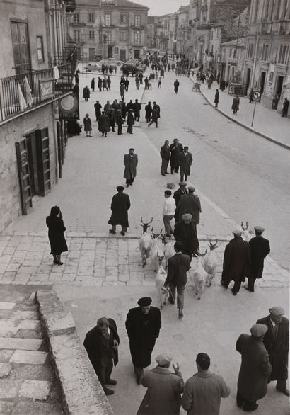 *Mario De Biasi (1923-2013) Sicilia, c. 1950....
