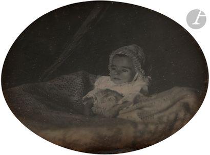 Daguerréotypiste non identifié Portrait d'enfant...