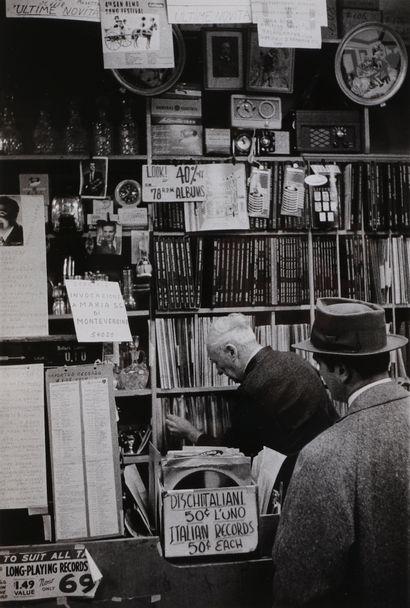 *Mario De Biasi (1923-2013) New York, 1955....