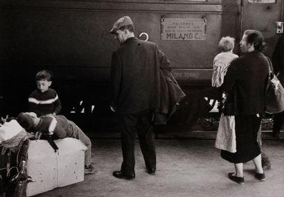 *Enzo Sellerio (1924-2012) Migrants à la...