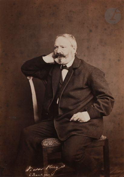 Edmond Bacot (1814-1875) Victor Hugo, 1862....