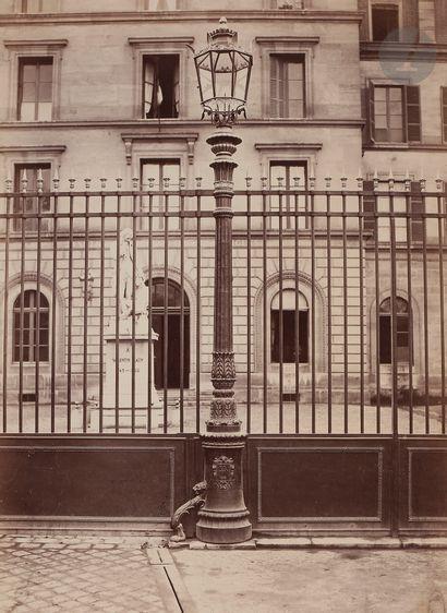 Charles Marville (1813-1879) Candélabre de...