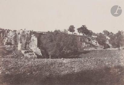 Auguste Salzmann (1824-1872) Jérusalem, 1854....