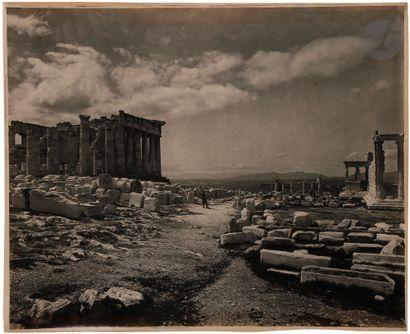 Maison Adolphe Braun Grèce, c. 1890. Athènes....