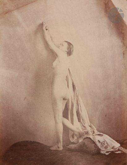 Frank Chauvassaignes (1831-?) Nu féminin...