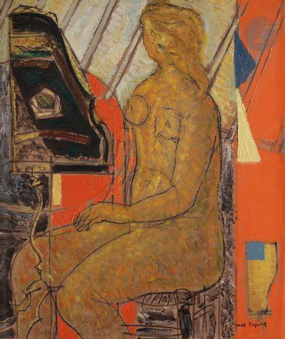 Max PAPART (1911-1994) Dorothée, 1957 Huile...