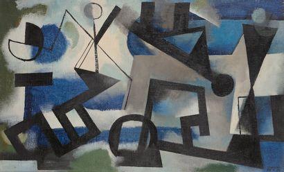 Youla CHAPOVAL (1919-1951) Héliotrope, 1949...
