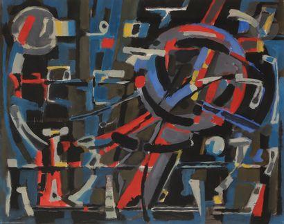 Jean BERTHOLLE (1909-1996) Composition, 1957...