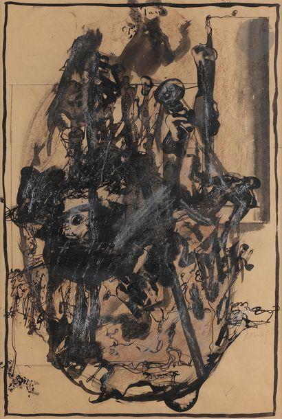 Jacques DOUCET (1924-1994) Composition, vers...