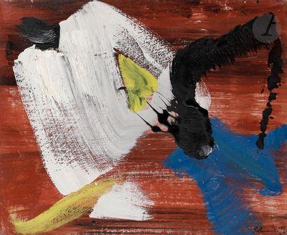 Gérard SCHNEIDER (1896-1986) Opus 65H, 1965...