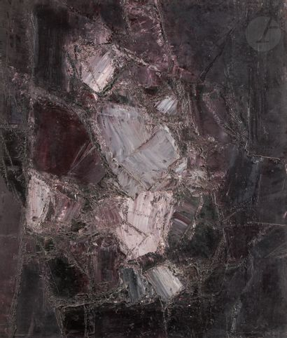 Léon ZACK (1892-1980) Améthyste, 1959 Huile...