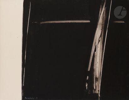 André MARFAING (1925-1987) Composition, 1984...