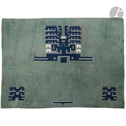 IVAN DA SILVA-BRUHNS (1881-1980) Motifs aztèques,...