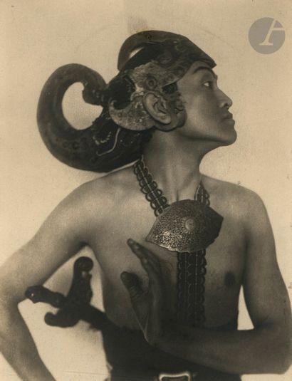 Frans Hals Danseur indonésien, c. 1930. Épreuve...