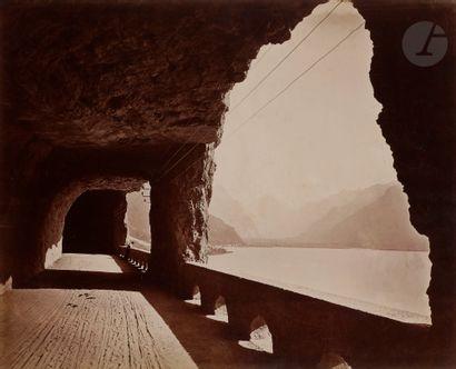 Adolphe Braun (attribué à) Lac des Quatre-Cantons....