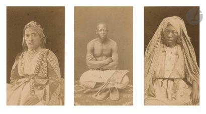 Jean Geiser et divers Algérie, c. 1870-1880....