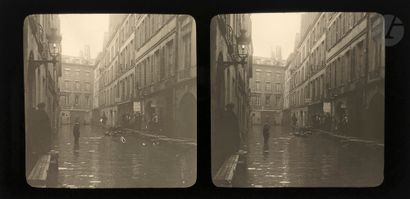 Photographe non identifié Paris. Inondation...