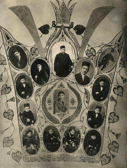 Photographe officiel de Téhéran Famille du...