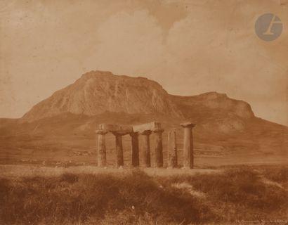 Frédéric Boissonnas (attribué à) Grèce, c....