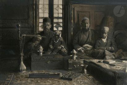 Léa Lafugie (1890-1972) Marchands arabes...