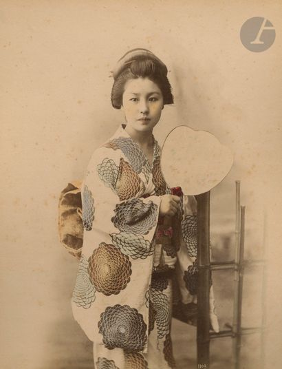 Toraz? Tamemasa et divers Japon, c. 1870-1880....