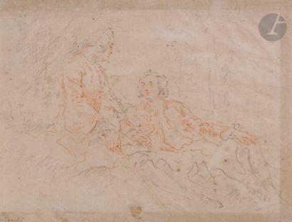 Attribué à Jacques-André PORTAIL (Brest 1695...